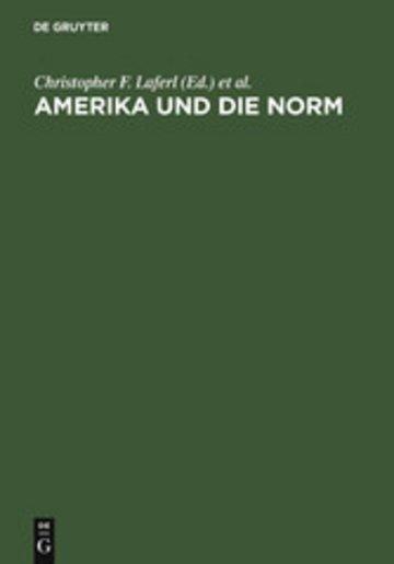 eBook Amerika und die Norm Cover