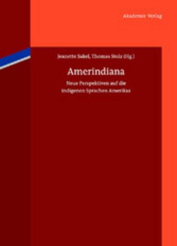 eBook Amerindiana Cover