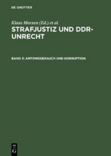 eBook Amtsmissbrauch und Korruption Cover