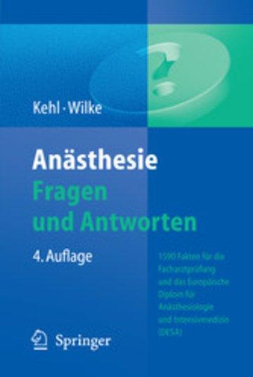 eBook Anästhesie. Fragen und Antworten Cover