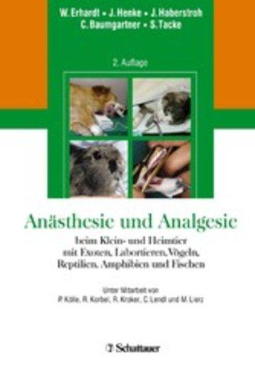 eBook Anästhesie und Analgesie beim Klein und Heimtier Cover