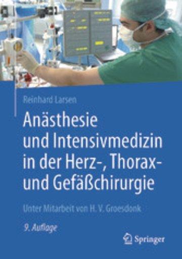 eBook Anästhesie und Intensivmedizin in der Herz-, Thorax- und Gefäßchirurgie Cover
