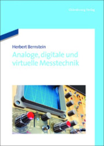 eBook Analoge, digitale und virtuelle Messtechnik Cover