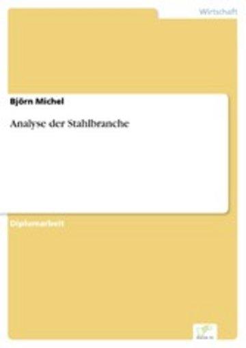 eBook Analyse der Stahlbranche Cover