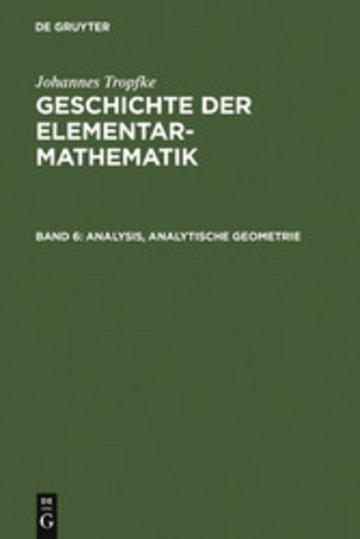 eBook Analysis, analytische Geometrie Cover