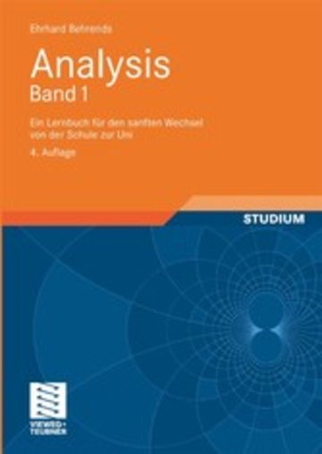 eBook Analysis Band 1 Cover
