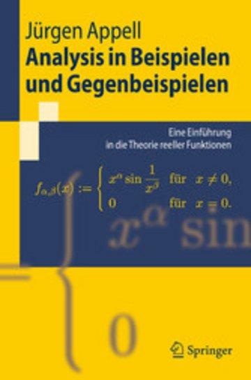 eBook Analysis in Beispielen und Gegenbeispielen Cover