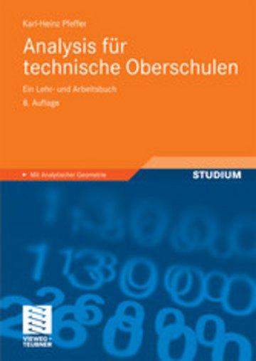 eBook Analysis für technische Oberschulen Cover