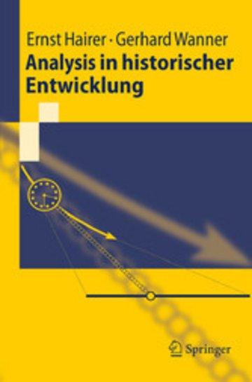 eBook Analysis in historischer Entwicklung Cover