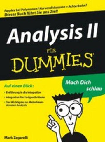 eBook Analysis II für Dummies Cover