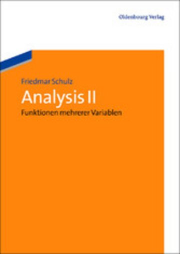 eBook Analysis II Cover