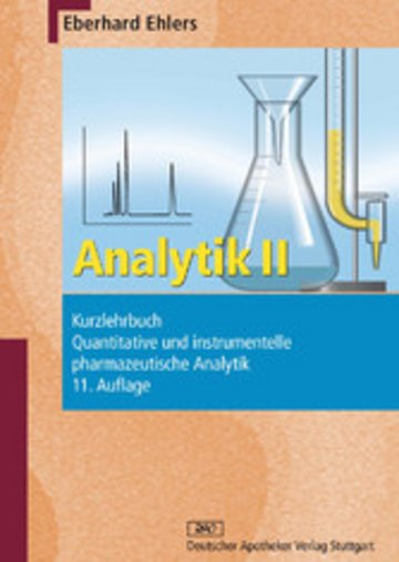 eBook Analytik II - Kurzlehrbuch und Prüfungsfragen Cover