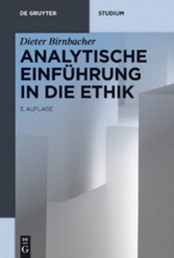 eBook Analytische Einführung in die Ethik Cover