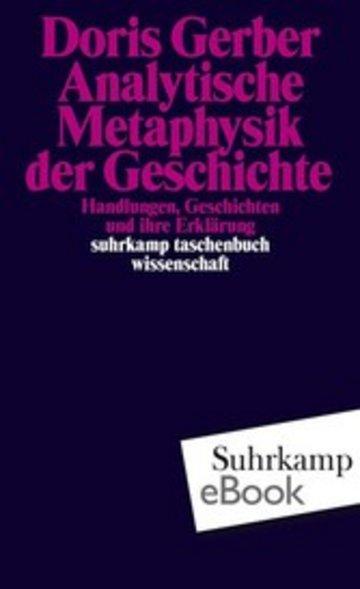 eBook Analytische Metaphysik der Geschichte Cover