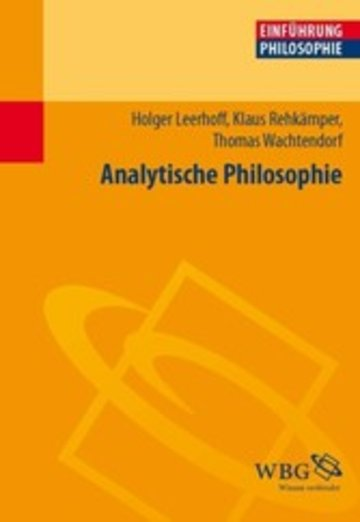 eBook Analytische Philosophie Cover