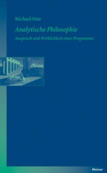 eBook Analytische Philosophie Cover