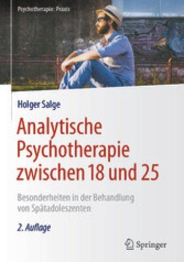 eBook Analytische Psychotherapie zwischen 18 und 25 Cover