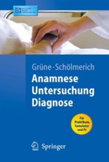 eBook Anamnese - Untersuchung - Diagnostik Cover