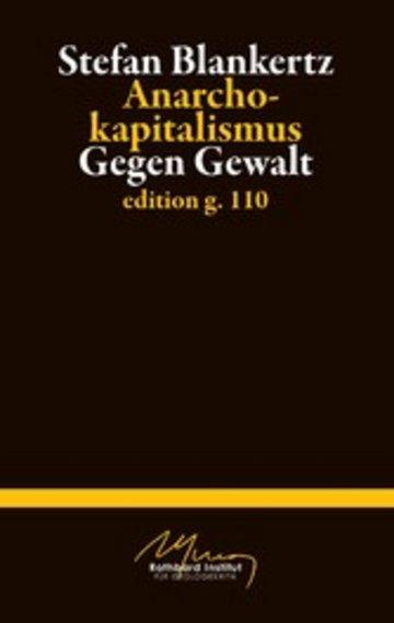 eBook Anarchokapitalismus Cover