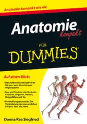 eBook Anatomie kompakt für Dummies Cover