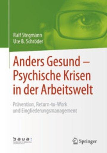 eBook Anders Gesund - Psychische Krisen in der Arbeitswelt Cover