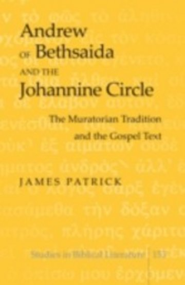 eBook Andrew of Bethsaida and the Johannine Circle Cover