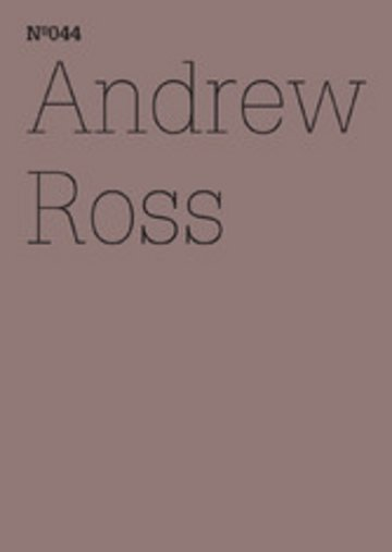 eBook Andrew Ross Cover