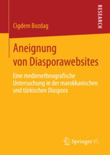 eBook Aneignung von Diasporawebsites Cover