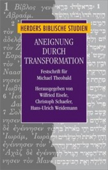 eBook Aneignung durch Transformation Cover