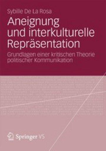 eBook Aneignung und interkulturelle Repräsentation Cover