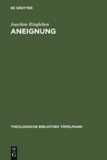 eBook Aneignung Cover