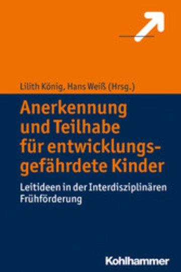 eBook Anerkennung und Teilhabe für entwicklungsgefährdete Kinder Cover