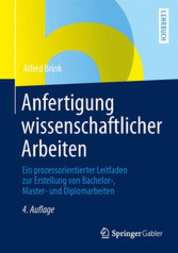 eBook Anfertigung wissenschaftlicher Arbeiten Cover