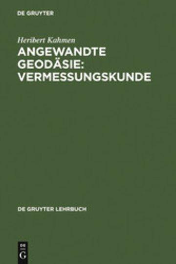 eBook Angewandte Geodäsie: Vermessungskunde Cover