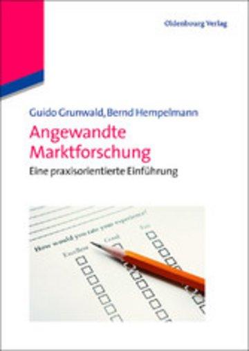 eBook Angewandte Marktforschung Cover