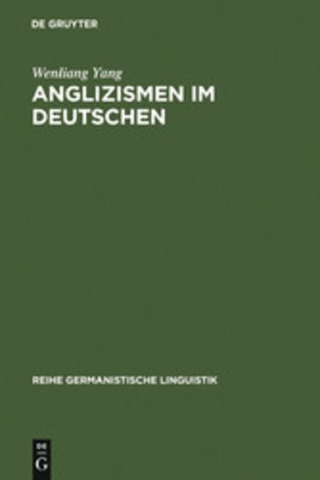 eBook Anglizismen im Deutschen Cover