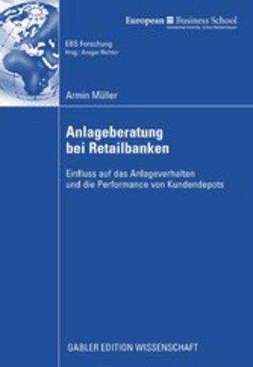 eBook Anlageberatung bei Retailbanken Cover