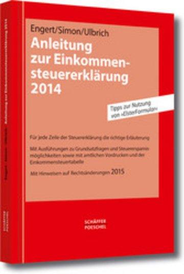 eBook Anleitung zur Einkommensteuererklärung 2014 Cover