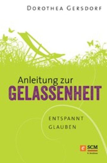 eBook Anleitung zur Gelassenheit Cover