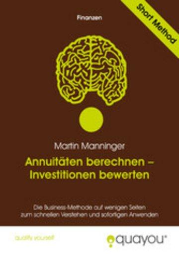 eBook Annuitäten berechnen - Investitionen bewerten Cover