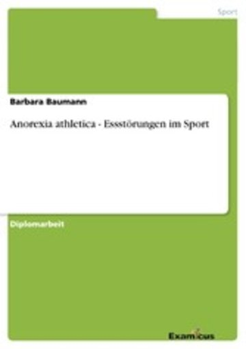eBook Anorexia athletica - Essstörungen im Sport Cover