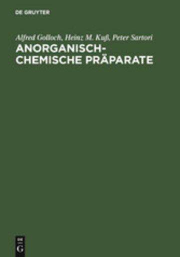 eBook Anorganisch-Chemische Präparate Cover