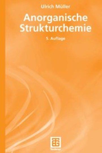 eBook Anorganische Strukturchemie Cover