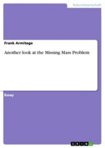 eBook Another look at the Missing Mass Problem Cover