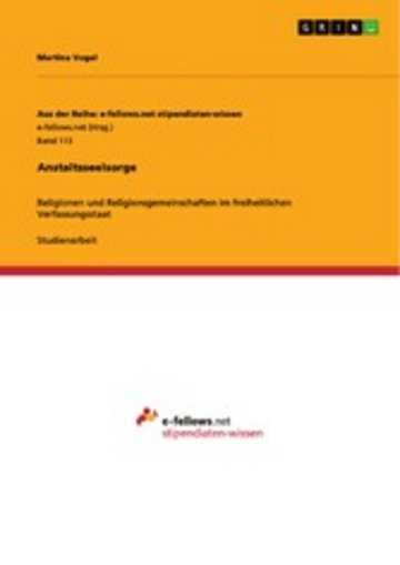 eBook Anstaltsseelsorge Cover