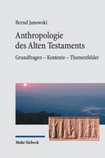 eBook Anthropologie des Alten Testaments Cover