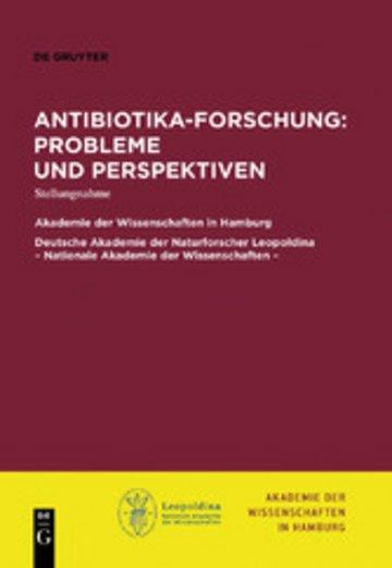 eBook Antibiotika-Forschung: Probleme und Perspektiven Cover