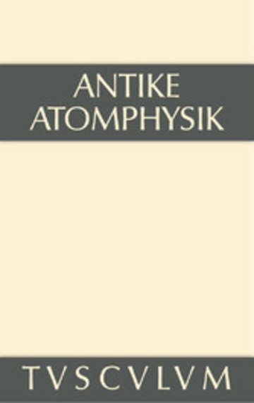 eBook Antike Atomphysik Cover