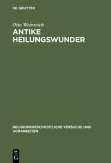 eBook Antike Heilungswunder Cover