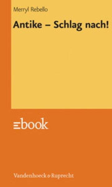 eBook Antike - Schlag nach! Cover